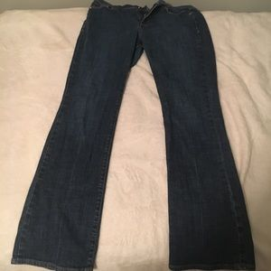 Boot Cut Blue Jeans
